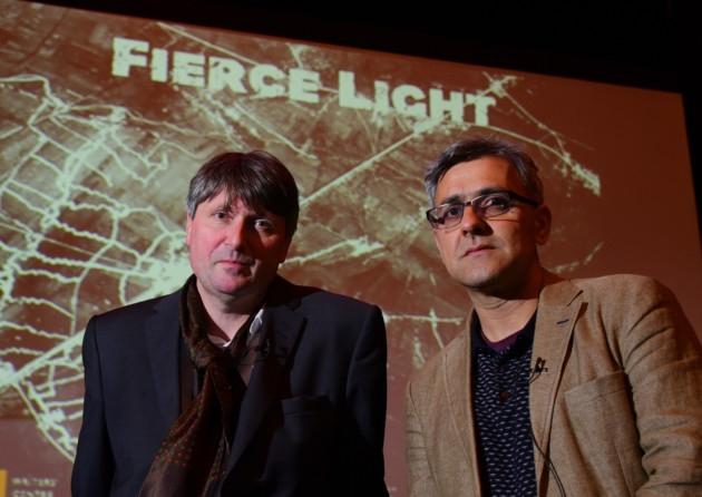 Simon Armitage and Daljit Nagra
