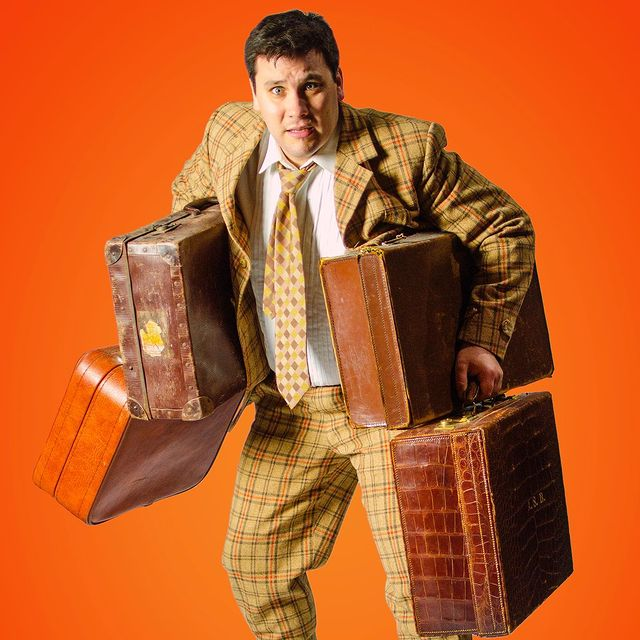 Joseph Betts as Francis Henshall in One Man, Two Guvnors